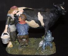 Milking the Cow Figure