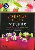 Fazer Liqueur Fills Mixers -- 150g Filled Chocolates
