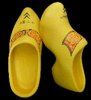 Made from EVA Traditional Dutch Wooden Shoe Style EUR: 46/47