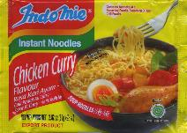IndoMie Chicken Curry Rasi Kari Ayam Flavor Instant Noodles 80g