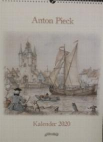 2020  Anton Pieck Kalender -- Calendar measures 13 X 17 inches