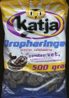 Katja Haringen Pittege Salmiak Drop -- Licorice