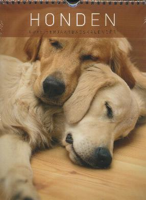 Birthday Calendar -- Dogs 12 Pages (easy to write on)