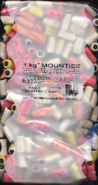 K&H Mounties-- Fruit Licorice  1kg