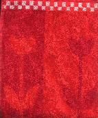 Kitchen Towel -- Tulip Red