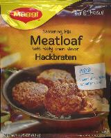 Maggi Seasoning Mix for Meatloaf for 1 lb of beef 92g