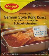 Maggi German Style Pork Roast Seasoning Mix 36g Schweinebraten