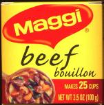 Maggi Beef Bouillon. Makes 20 cups