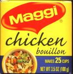 Maggi Chicken Bouillon. Makes 20 cups