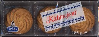 Merba Kletsmajoors 100% Roomboter 185g with real butter