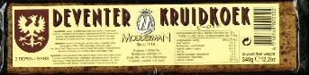 Modderman Deventer Kruidkoek 340g