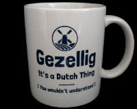 Mug -- Gezellig - It's a Dutch Thing