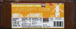 Ontbijtkoek - Breakfast Honey Cake  400g