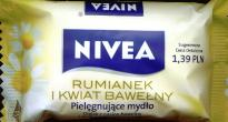 Nivea Body Care Soap Bar with Cotton Flower & Camomile 90g