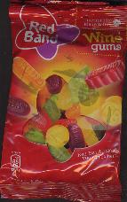 Red Band Winegum Gummy Candy  166g