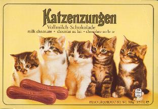 Sarotti Katzenzungen Milk Chocolate 100g - Chocolate Cat Tongues
