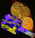 Zakje Melkchocolade Munten -- Bag of Milk Chocolate Coins