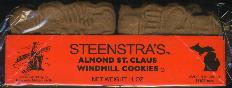 Steenstra Almond St. Claus Windmill Cookies 310g 11 oz.