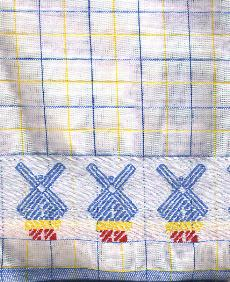 Tea Towel Blue 100% Cotton