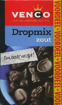 Venco Dropmix Zoute 520g Boxed Drop salty licorice pondspak
