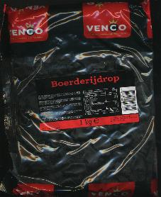 Venco Boerderij Drop -- Farm Licorice 1 Kilo Bag