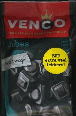 Venco Jubes Salty Licorice 279g