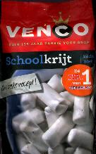 Venco Schoolkrijt Zacht Zoet Chalk Licorice -- 250g