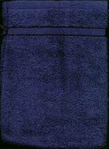 Washandje Donker Blauw -- Wash cloth mit Dark Blue