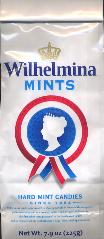 Fortuin Wilhelmina Peppermints bag 225g -- Hard Mint Candies