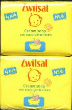 Zwitsal Cream Soap 4 X 90g bars
